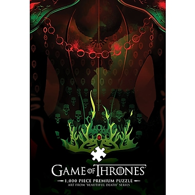 Casse-tête de luxe Game of Thrones, motif Long May She Reign (MONPZ104522)