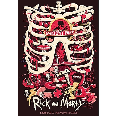 Rick and Morty Anatomy Park 1000 Piece Premium Puzzle (MONPZ085523)