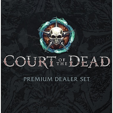 Jeu de cartes à motif Court of the Dead (MONPC121527)