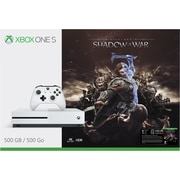 Xbox One S 500GB Console Middle-Earth: Shadow of War Bundle