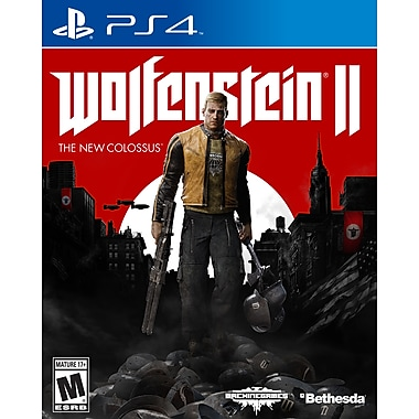 Jeu Wolfenstein 2: The New Colossus, pour PS4