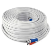 Swann HD Video andPower BNC Cable, 200ft, White (SWPRO-60MTVF)