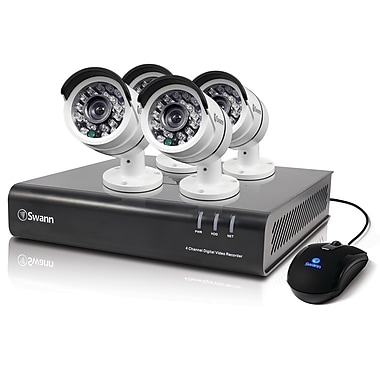 Swann 4 Channel DVR Security System With 4 PRO-T855 HD Cameras (SWDVK-445004)