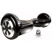 Gyrocopters PRO 2.0 Hoverboard with Bluetooth Speaker, APP, LED Lights, No Fall Technology and UL2272 Certified, Black