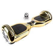 Gyrocopters PRO 2.0 Hoverboard with Bluetooth Speaker, APP, LED Lights, No Fall Technology and UL2272 Certified, Gold