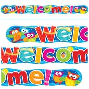 Trend Enterprises® Welcome Owl Stars! Quotable 10' Expressions Banner