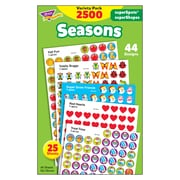 Trend Enterprises® SuperSpots® and SuperShapes Stickers, Seasons