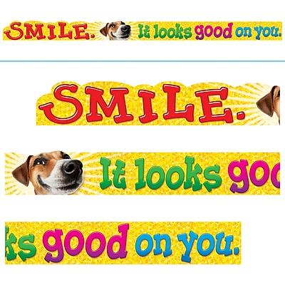 Trend Enterprises® 1st - 6th Grade 10' ARGUS® Banner, Smile. It Looks Good On You