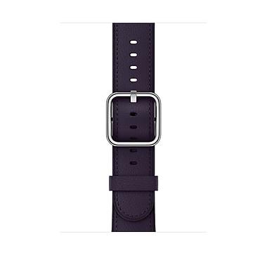 Apple Watch Dark Aubergine Classic Buckle