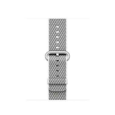 Apple Watch 38mm White Check Woven Nylon, MQVA2AM/A