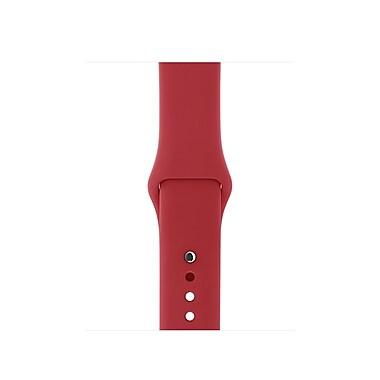 Bracelet sport Apple Watch (PRODUCT)RED 38 mm - P/M et M/G, MQXD2AM/A