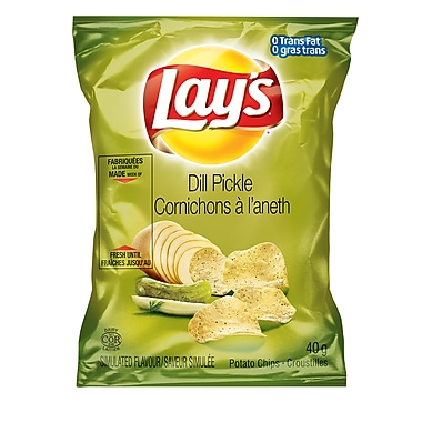 Lay's Dill Pickle 40g, 40/Pack
