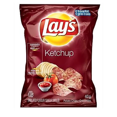 Lay's – Ketchup 40 g, 40/paquet