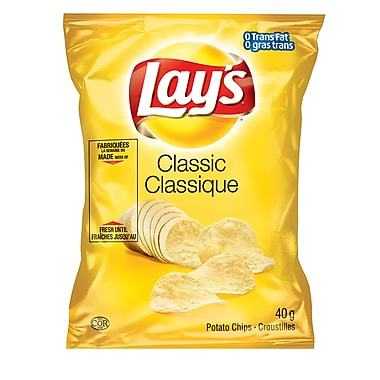 Lay's Classic® Regular 40g, 40/Pack
