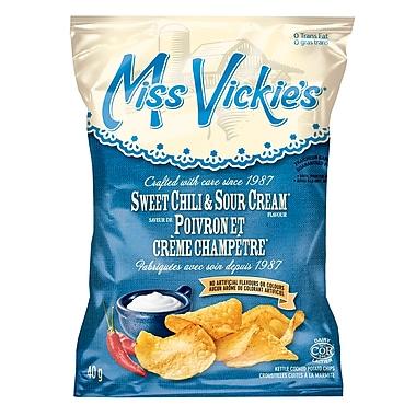 Miss Vickie's – Poivron et crème champêtre, 40 g, 40/paquet