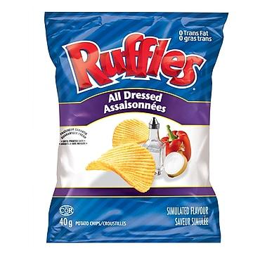 Ruffles – Croustilles assaisonnées, 40 g, 48/paquet