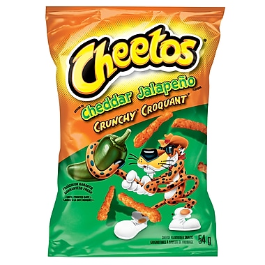 Cheetos® Crunchy Cheddar Jalapeno 57g, 40/Pack