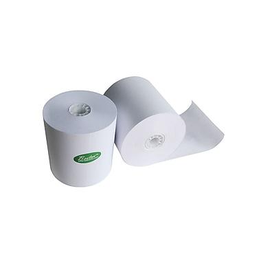 FuTECH - Rouleau de papier thermique, 3 1/8 po lar. x 220 pi long., paq./50 rouleaux (RPOS220)