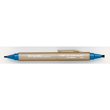 Itoya Calligraphy Classics Marker, Teal, 6/Pack