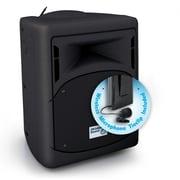 Oklahoma Sound 40 Watt Wireless PA Systm with Wireless Tie-Clip/Lavalier Microphone, Black (PRA-8000/PRA8-6)