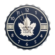 Forever Collectibles Toronto Maple Leafs Bottle Cap Clock