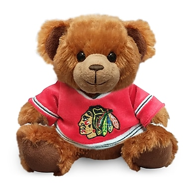Forever Collectibles Chicago Blackhawks Jersey Sweater Bear