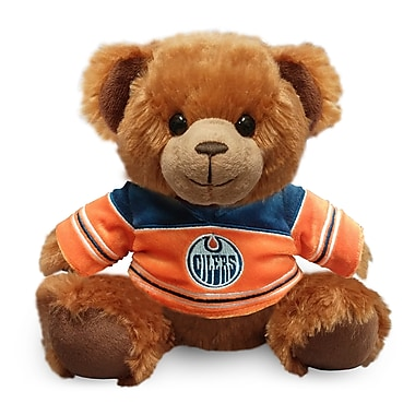 Forever Collectibles Edmonton Oilers Jersey Sweater Bear