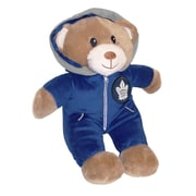 Forever Collectibles Toronto Maple Leafs Jumpsuit Bear