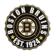 Forever Collectibles Boston Bruins Bottle Cap Wall Logo