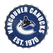 Forever Collectibles Vancouver Canucks Bottle Cap Wall Logo