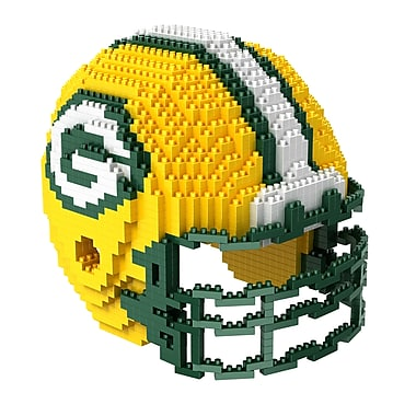 Forever Collectibles – Casse-tête BRXLZ, casque des Packers de Green Bay