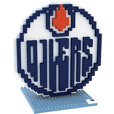 Forever Collectibles – Casse-tête BRXLZ, logo des Oilers d'Edmonton