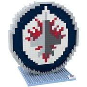 Forever Collectibles Winnipeg Jets Logo BRXLZ Puzzle