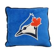 Forever Collectibles - Coussin à bordure contrastée des Blue Jays de Toronto