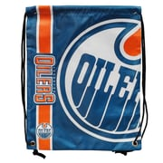 Forever Collectibles Edmonton Oilers Big Logo Drawstring Bag