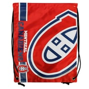 Forever Collectibles Montreal Canadiens Big Logo Drawstring Bag