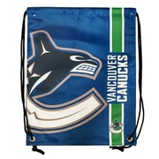Forever Collectibles Vancouver Canucks Big Logo Drawstring Bag