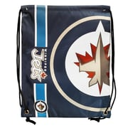Forever Collectibles Winnipeg Jets Big Logo Drawstring Bag