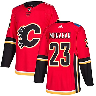 adidas Calgary Flames Sean Monahan NHL Authentic Pro Home Jersey, Large