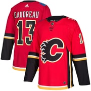 adidas Calgary Flames Johnny Gaudreau NHL Authentic Pro Home Jersey