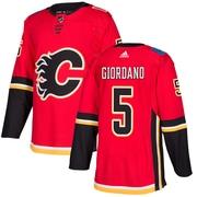 adidas Calgary Flames Mark Giordano NHL Authentic Pro Home Jersey