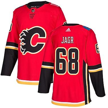 Adidas – Maillot domicile authentique Pro Jaromir Jagr des Flames de Calgary de la LNH, très grand