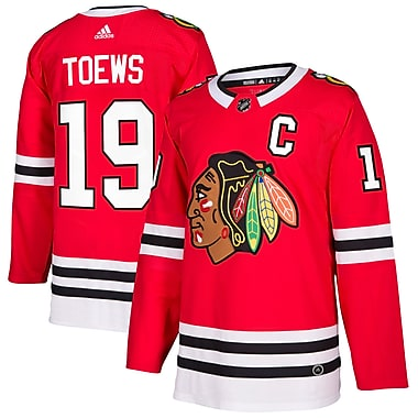 adidas Chicago Blackhawks Jonathan Toews NHL Authentic Pro Home Jersey, Small