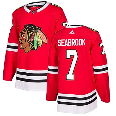 adidas Chicago Blackhawks Brent Seabrook NHL Authentic Pro Home Jersey, X Large