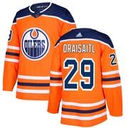 Adidas - Maillot domicile officiel de la LNH de Leon Draisaitl des Oilers d?Edmonton