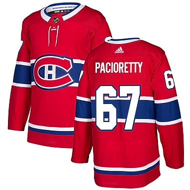 adidas Montreal Canadiens Max Pacioretty NHL Authentic Pro Home Jersey, Medium