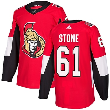 adidas Ottawa Senators Mark Stone NHL Authentic Pro Home Jersey, Large