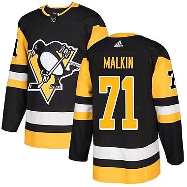 adidas Pittsburgh Penguins Evgeni Malkin NHL Authentic Pro Home Jersey, Medium