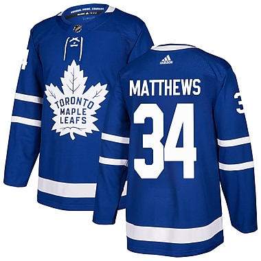 adidas Toronto Maple Leafs Auston Matthews NHL Authentic Pro Home Jersey, Large