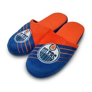 Forever Collectibles Edmonton Oilers Big Logo Slippers